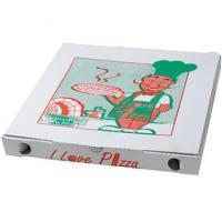 Pizzabox 29X29X3cm m/tryk-100Stk