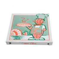 Pizzabox 40X40X3cm m/tryk-100Stk