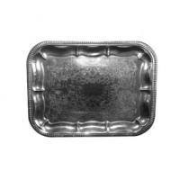 Serveringsfad - sølvfad firk 310x410mm