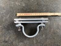 Kæbebeslag f/mont på Ø60mm enk