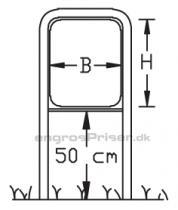 Lav galge H30xB30cm LG3