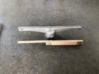Topholder alu 43cm lang f/Ø60mm
