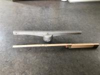 Topholder alu 52cm lang f/Ø60mm