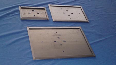 Skilteholder A6  148x105mm galv