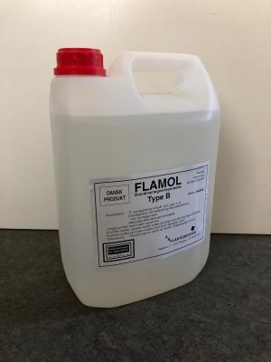 Flamol B f/tekstil-stof-papir 5,0l