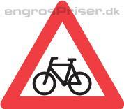 Cyklister 90cm A21 tavle