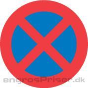 Standsning Forbudt 50cm C61
