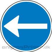 Påbudt Kørsel 50cm D11.2 tavle
