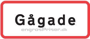 Undertavle Gågade 30x70 UA17