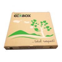 Pizzaæske 29x29x3cm ecobox logo 100stk