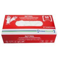 Nitril handske hvid u/pudder M 150stk