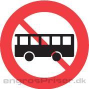 Bus Forbudt 50cm C23.2 dobb.
