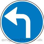 Påbudt Kørsel 50cm D11.4 dobb.
