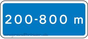 Meterangivelse 30x70 blå U2.2