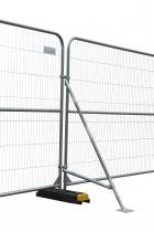 Støtteben med stabilisator til hegn